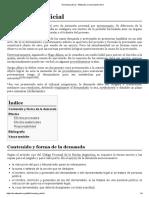 Demanda Judicial - Wikipedia, La Enciclopedia Libre