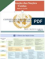 6 - ONU - Conselho de Segurança e a Manutenção da Paz.pdf