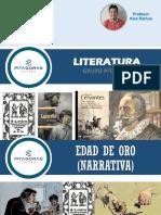LITERATURA T08-EDAD DE ORO (Novela)