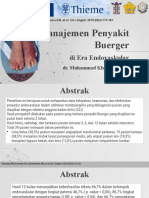 Management of Buerger's Disease in Endovascular Era Indonesia