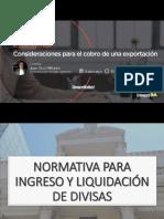 consideraciones para el cobro de una expo InvestBA Juan Cruz Miñones