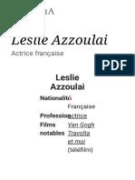 Leslie Azzoulai — Wikipédia