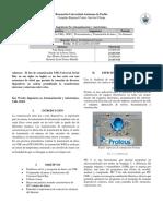 Transmisión de datos vía USB y WIFI