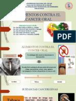 ALIMENTOS CONTRA EL CANCER ORAL.pptx