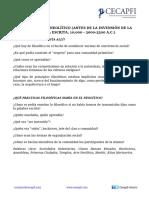 HISTORIA DE LA FILOSOFÍA Y LA PRÁCTICA FILOSÓFICA