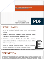 Building Construction License (Rev.01)