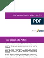 Plan Nacional para las Artes 2015 - 2019 - Jul13 de 2015(1)