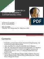 Presentación Mo Yan Las baladas del ajo
