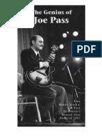 Joe Pass -  Genius of Joe Pass