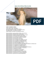 Letanías de la Divina Misericordia