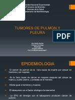 TUMORES DE PULMON Y PLEURA