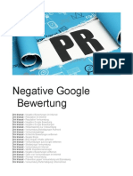 Dirk Massat -Negative Google Bewertung