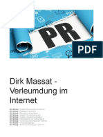 Dirk Massat - Verleumdung Im Internet