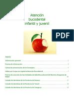 Atención Bucodental Infantil y Juvenil en Aragón 2011