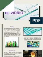 SEMINARIO #7  EL VIDRIO