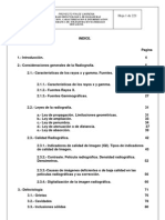 Interpretación defectos soldadura radiografia