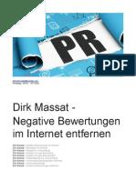 Dirk Massat - Negative Bewertungen Im Internet Entfernen