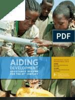 BrookingsBlum report-aiding_development