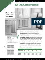 Charleston Steam Radiator Brochure