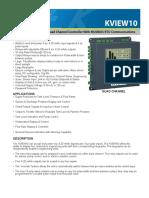 FIC01_KV10-0202-1e KVIEW10 Data Sheet