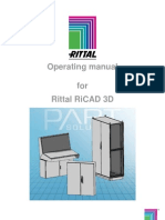 Operating Manual for RiCAD 3D