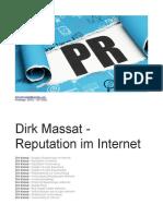 Dirk Massat - Reputation Im Internet