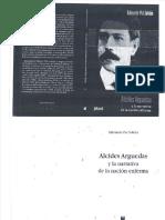 Pérez Soldán, Alcides Arguedas y la narrativa de la nación enferma