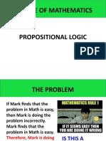Nature of Mathematics - LOGIC.pptx