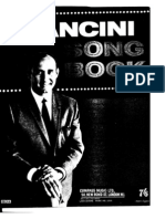 henry mancini - mancini song book (book)