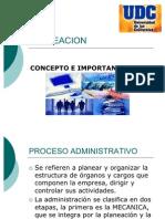 PROCESO ADMINISTRATIVO LA PLANEACION  UDC (1)