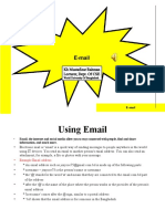 WUB BBA Course Class No 4 Introduction to Internet-Uses of Email