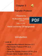 WUB BBA Course Class No 5 Introduction to Internet-File Transfer Protocol
