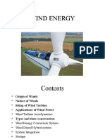 Unit - II (Wind Energy)