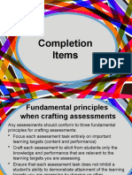 Assessment -Completion-Type Items.pptx