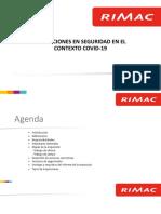 INSPECCIONES EN SEGURIDAD EN EL CONTEXTO COVID - 19