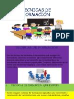 EVIDENCIA DE TECNICAS DE FORMACIÓN