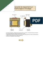 Calcolo trasformatore monofase (Volpi)