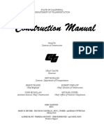 [CALTRANS] Construction Manual (929 pags)