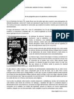 """Examen """"Muertos Vivientes"""" para 3º de ESO SOLUCIONADO"""