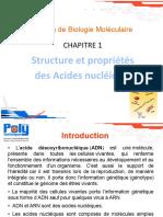 Chapitre 1-Biologie Mol