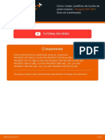 Como mudar_ pastilhas de travão da parte traseira - Peugeot 307 SW _ Guia de substituição