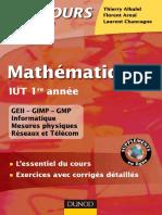 mathématiques iut 1ere année (thierrye alhalel...)
