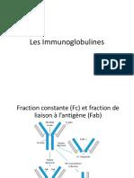Les Immunoglobulines
