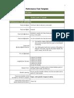 botanist performance task template