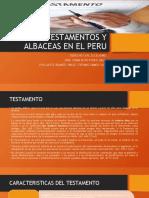 RAMOS SOSA ANGIE STEFANIE TESTAMENTOS Y ALBACEAS EN EL PERU