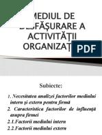 4. Mediu de Desf a Activ