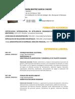 CV DEYANIRA GARCIA   DOCENTE