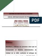 ISO 9001 basado en Procesos