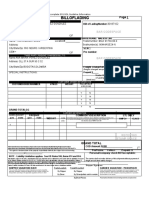 BILL OF LADING PLOTTER