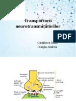 Transp ai Neurotransmitatorilor